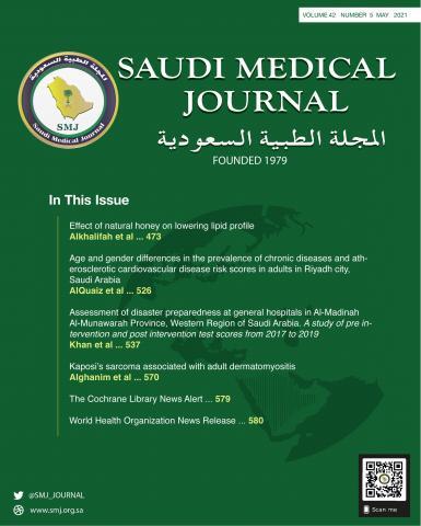 Saudi Medical Journal: 42 (5)
